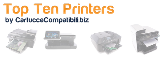 Cartucce Compatibili presenta la Top Ten Printers